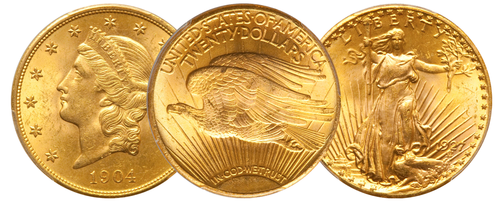 Historic U.S. Gold Coins
