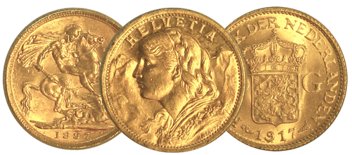 Historic Fractional Gold Coins