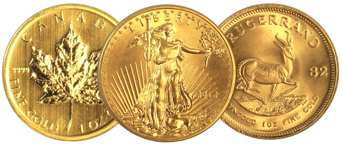Modern Gold Bullion Coins and Bars