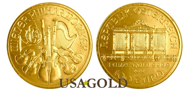 Austrian Gold Philharmonic 1oz.