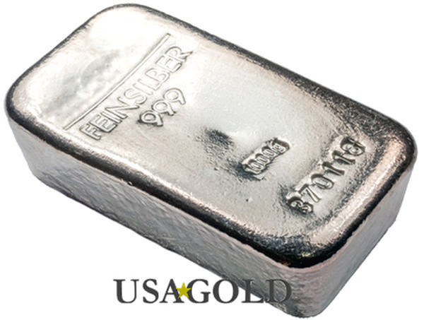 Silver Bullion Bars (100 troy ounce)