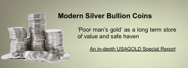 Silver Bullion Coins - Article on Investing in Silver Bullion Coins