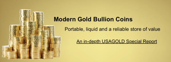 Gold Bullion Coins - Article on Investing in Modern Gold Bullion Coins